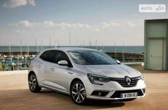 Renault Megane New 1.5D МТ (110 л.с.) Life 2017