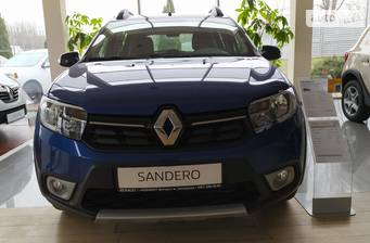 Renault Sandero StepWay 2020 Ultramarine Limited Edition Cross