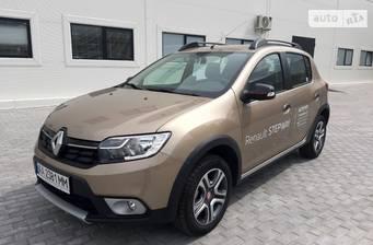 Renault Logan Stepway 2019 Ultramarine