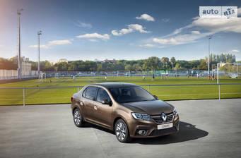 Renault Logan New 0.9 MT (90 л.с.) 2019