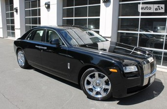 Rolls-Royce Ghost 6.6 АТ (563 л.с.)  2016