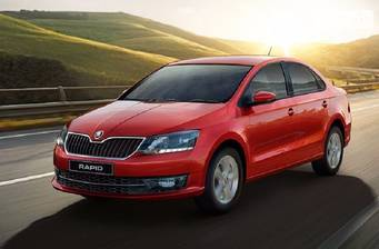 Skoda Rapid New 1.6 MT (110 л.с) 2018