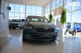 Skoda Superb New 1.8 TSI АT (180 л.с.) 2018