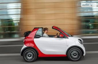 Smart Fortwo 0.9 AT ( 90 л.с.) 2016