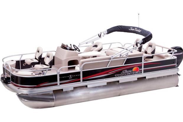 Sun Tracker Fishin Barge