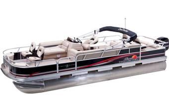 Sun Tracker Fishin Barge 2021