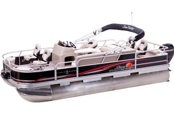 Sun Tracker Fishin Barge 2018