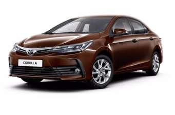 Toyota Corolla New 1.6 CVT (132 л.с.) Active 2018
