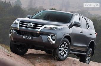 Toyota Fortuner 2.7 AT (164 л.с.) 4WD 2018