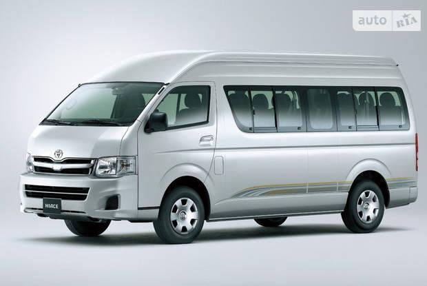 Toyota Hiace пасс. H200 (рестайлінг) Микроавтобус
