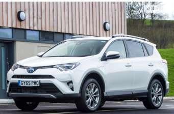 Toyota Rav 4 2.5 E-CVT Hybrid (197 л.с.) 2WD Drive 2017