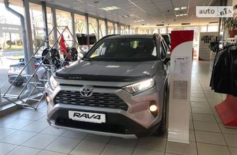 Toyota RAV4 2.0 Dual VVT-i CVT (173 л.с.) AWD 2021