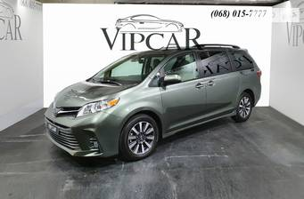 Toyota Sienna 3.5 AT (296 л.с.) AWD 2020