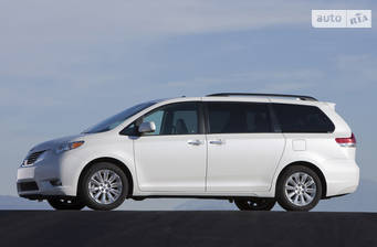 Toyota Sienna 3.5 AT (266 л.с.) 7s AWD 2019