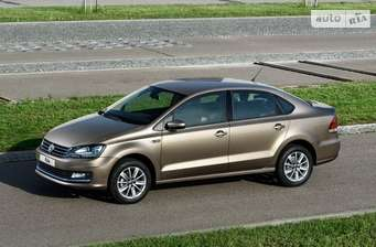 Volkswagen Polo New 1.6 MPI MT (90 л.с.) Life 2018