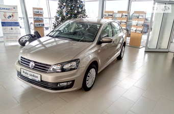 Volkswagen Polo New 1.4 TSI MT (125 л.с.) Highline 2018