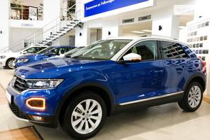 Volkswagen T-Roc 1.5 TSI DSG (150 л.с.) Style 2019