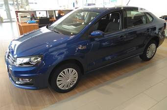 Volkswagen Polo New 1.4 TSI AT (125 л.с.) 2019