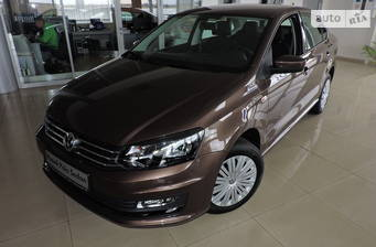 Volkswagen Polo New 1.4 TSI MT (125 л.с.) 2018