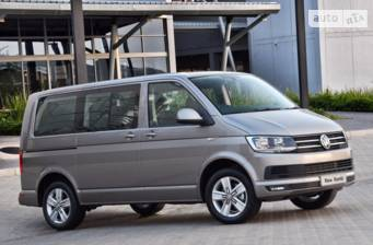 Volkswagen T6 (Transporter) пасс. New Common Rail 2.0 l TDI MT (103 kW) 2018