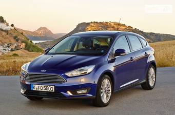 Ford Focus 1.6 MT (105 л.с.) 2017