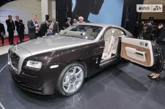 Rolls-Royce Wraith 6.6 AT (624 л.с.) 2018