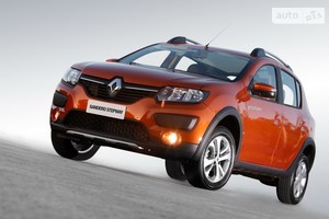 Renault Sandero StepWay 0.9TCe 5MT (90 л.с.) Ultramarine