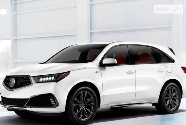 Acura MDX IV поколение (рестайлинг) Кросовер