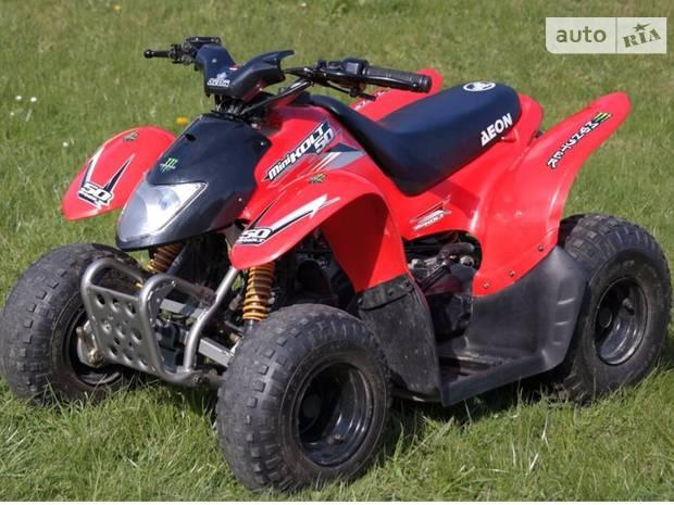 Aeon Minikolt 1 поколение Квадроцикл