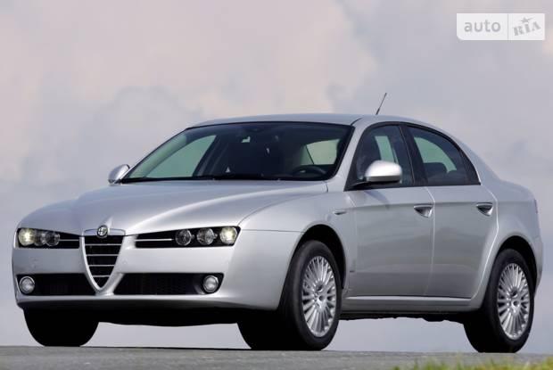 Alfa Romeo 159 1 поколение Седан
