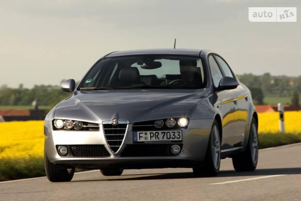 Alfa Romeo 159 1 поколение (рестайлинг) Седан