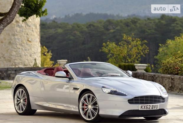 Aston Martin DB9 1 покоління (2 рестайлінг) Кабриолет
