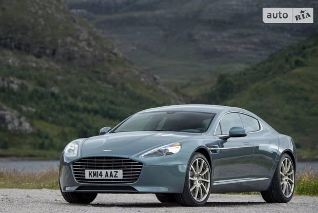 Aston Martin Rapide 1 покоління (рестайлінг) Лифтбэк