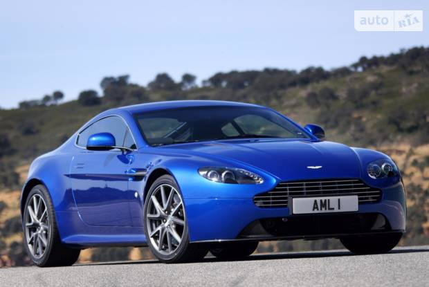 Aston Martin V8 Vantage 3 покоління (рестайлінг) Купе