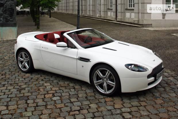 Aston Martin V8 Vantage 3 покоління (рестайлінг) Родстер