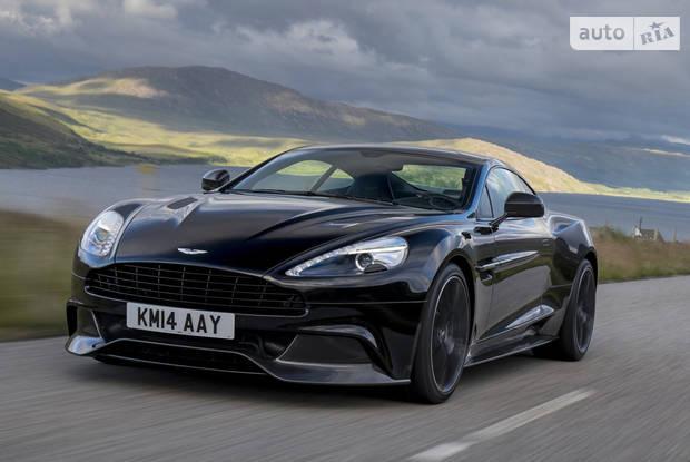 Aston Martin Vanquish 2 покоління Купе