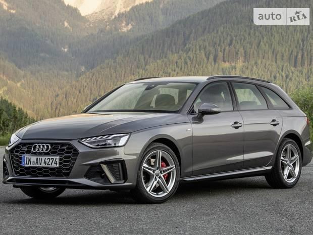 Audi A4 B9 (рестайлинг) Универсал