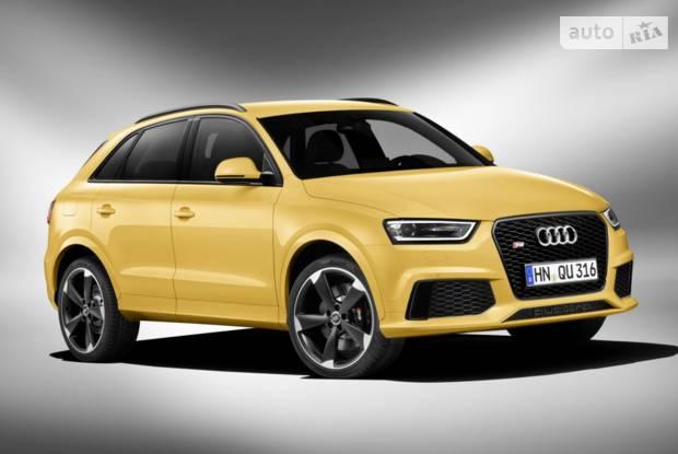 Audi RS Q3 Typ 8U Кросовер