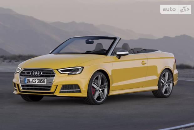 Audi S3 Typ 8V (рестайлінг) Кабриолет