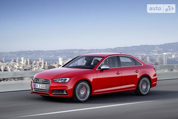 Audi S4 B9 Седан