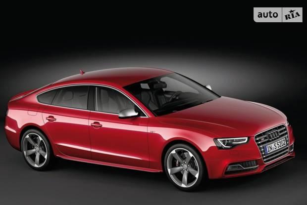 Audi S5 Typ 8T (рестайлінг) Лифтбэк