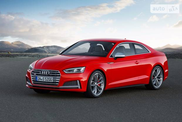 Audi S5 II поколение Купе