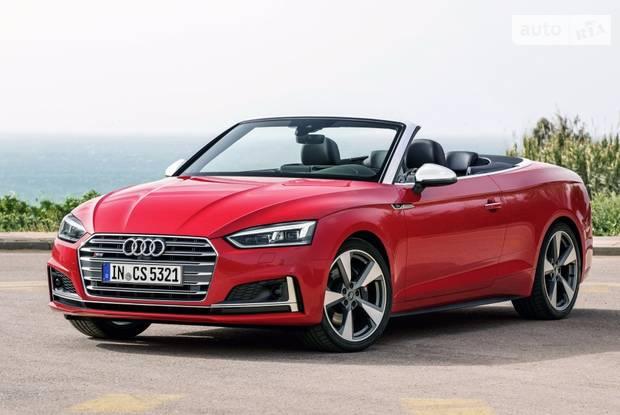 Audi S5 II поколение Кабриолет