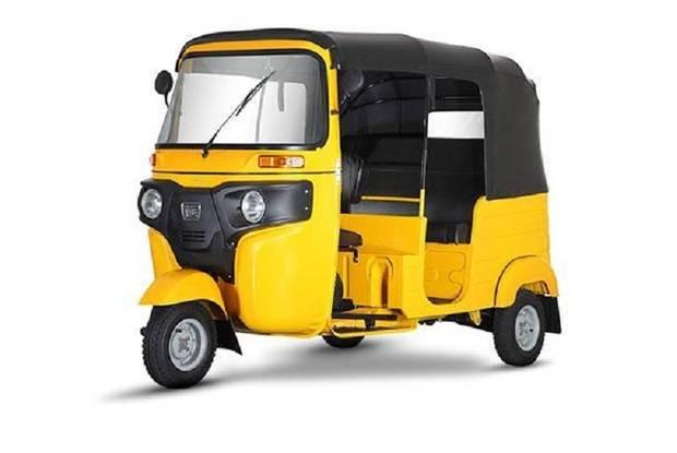 Bajaj RE 1 поколение, рестайлинг Трицикл