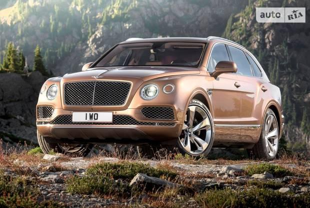 Bentley Bentayga 1 поколение Кросовер