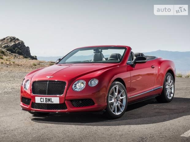 Bentley Continental GT V8 S 2 поколение Кабріолет