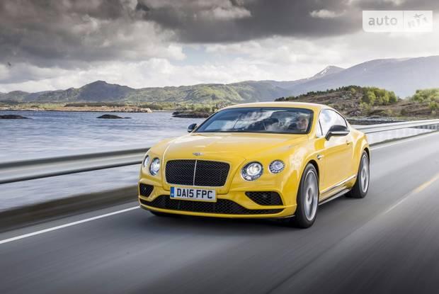 Bentley Continental GT V8 S 2 поколение (рестайлинг) Купе