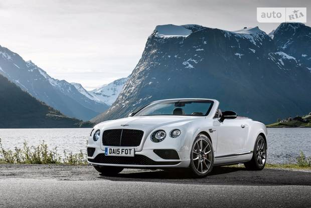 Bentley Continental GT V8 S 2 поколение (рестайлинг) Кабриолет
