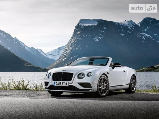 Bentley Continental GT V8 S 2 поколение (рестайлинг) Кабріолет