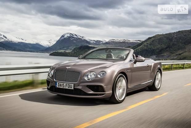 Bentley Continental GT II поколение (рестайлинг) Кабріолет